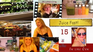 Cynthia Troyer In Like Cyn 15 Juice Fast