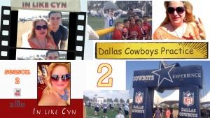 In Like Cyn Cynthia Troyer S2 E2 Dallas Cowboys Practice V2